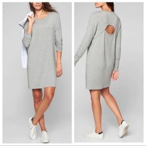 Athleta grey sweatshirt dress size XS/S